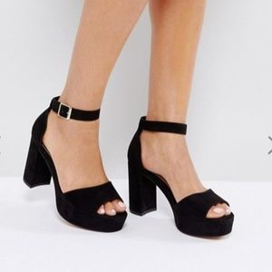 ASOS HEIDI Block Heeled Sandals